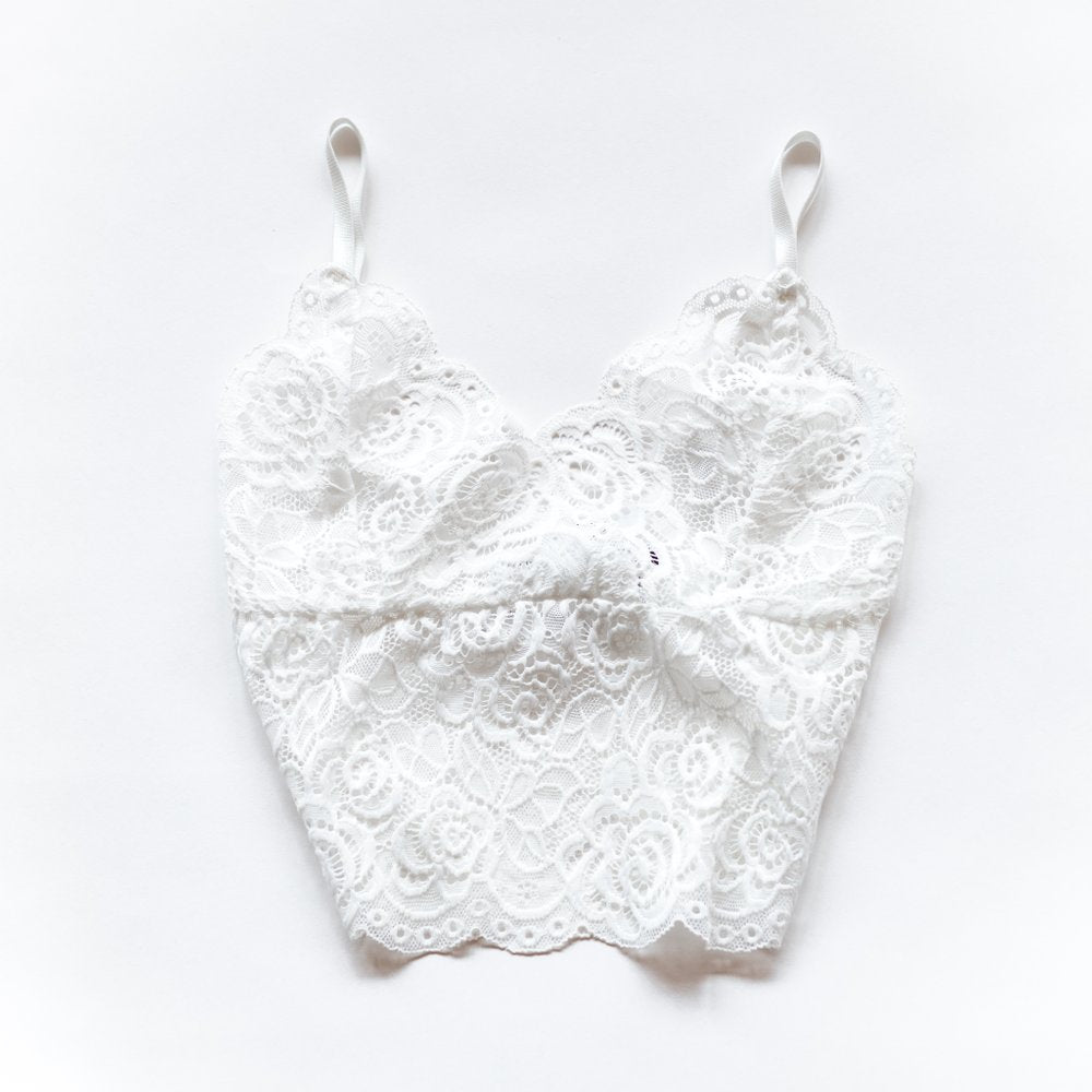 Queen of the Foxes Bralette White