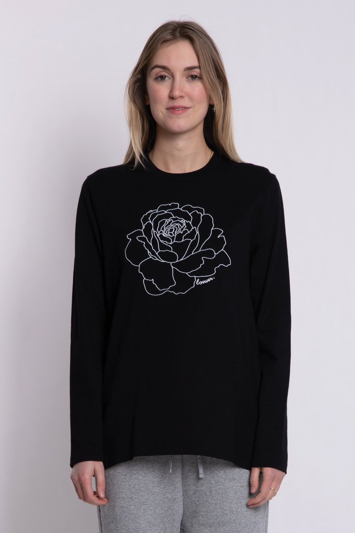 Lower Relax L/S Tee Rose