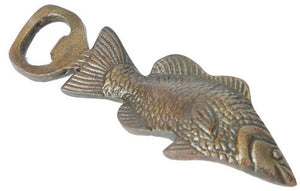 Rembrandt Iron Fish Bottle Opener