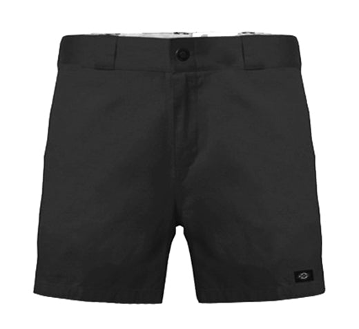 "Dickies 7.5"" Regular Fit Short Black"
