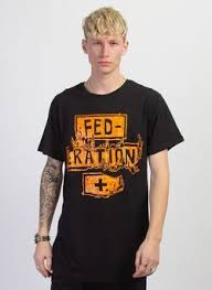 Federation Look Tee Burn