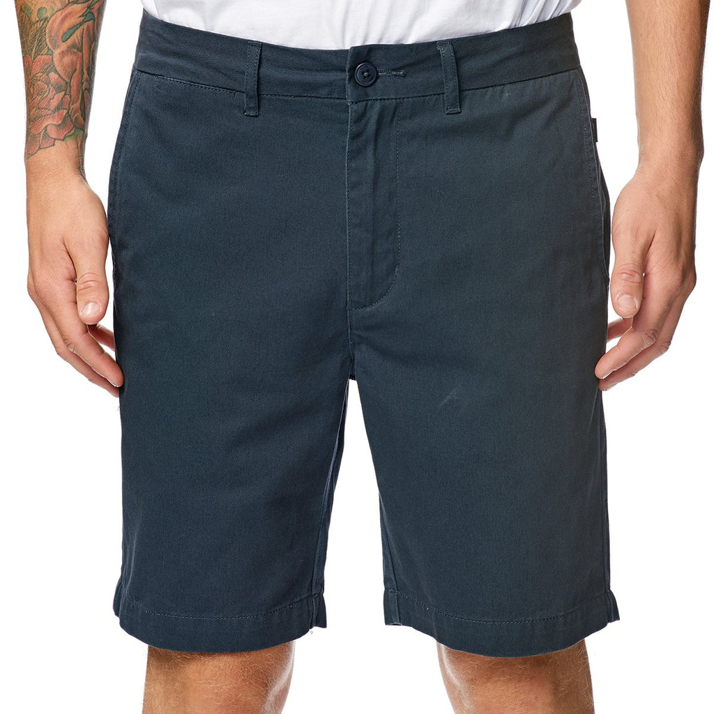 Globe Goodstock Chino Walkshort Blue Enzyme
