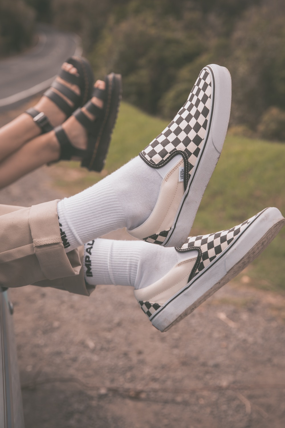 Vans CSO Black/White Checkerboard