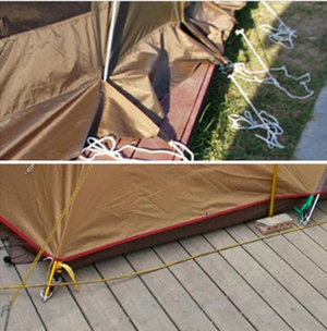 Tent Platform Anchors (4 pcs)