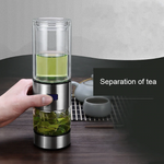 Portable Tea Water Separation Cups
