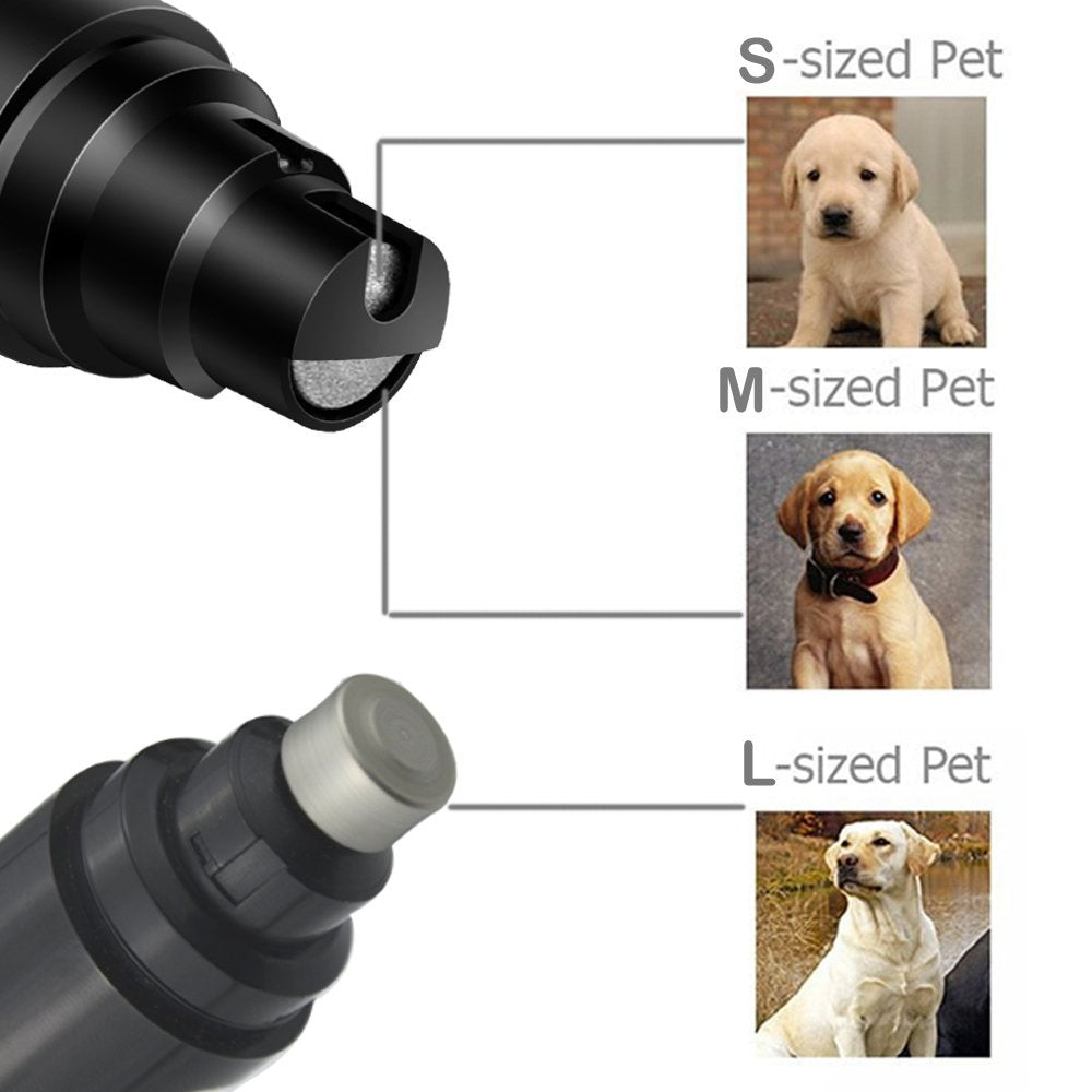 PREMIUM RECHARGEABLE PAINLESS PET'S NAIL GRINDER (QUITE VERSION)