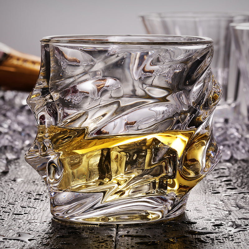 Classic Engraved Design Whisky Glass