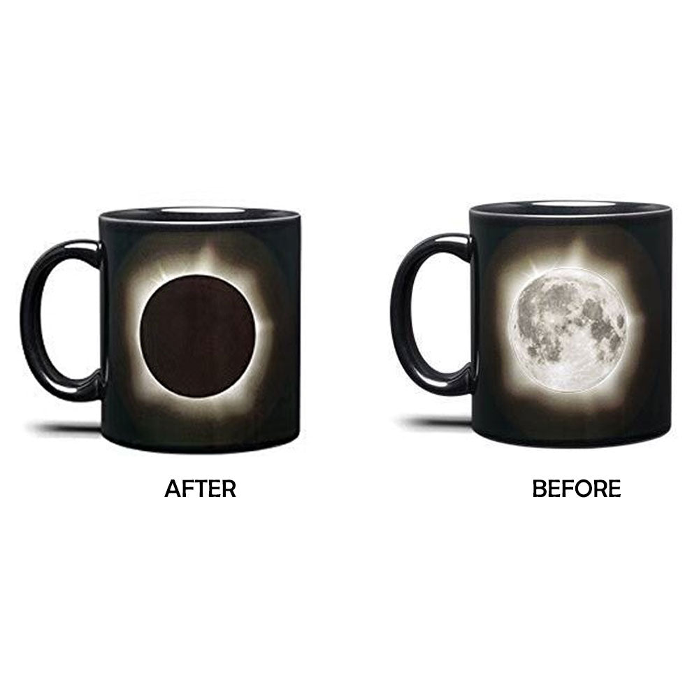 Color Changing Solar and Luna Eclip Coffee Mug