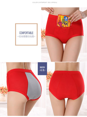 Period Panty With Heating Pad Holder Pocket