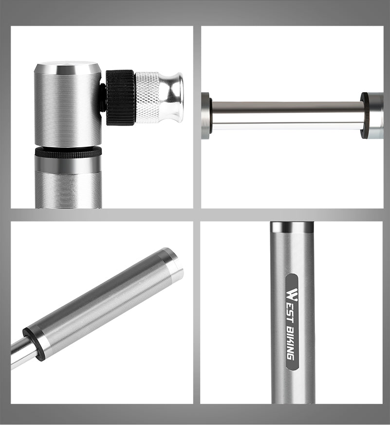 89G Portable Mini Bicycle Pump (160 PSI!)