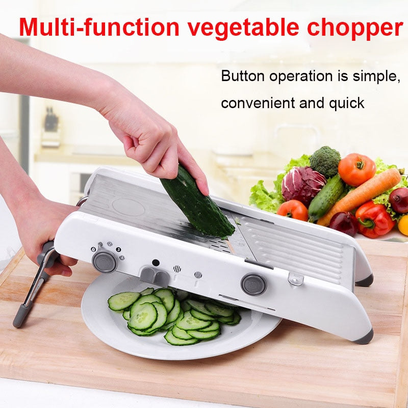 All-in-one Grater, Slicer, and Cutter