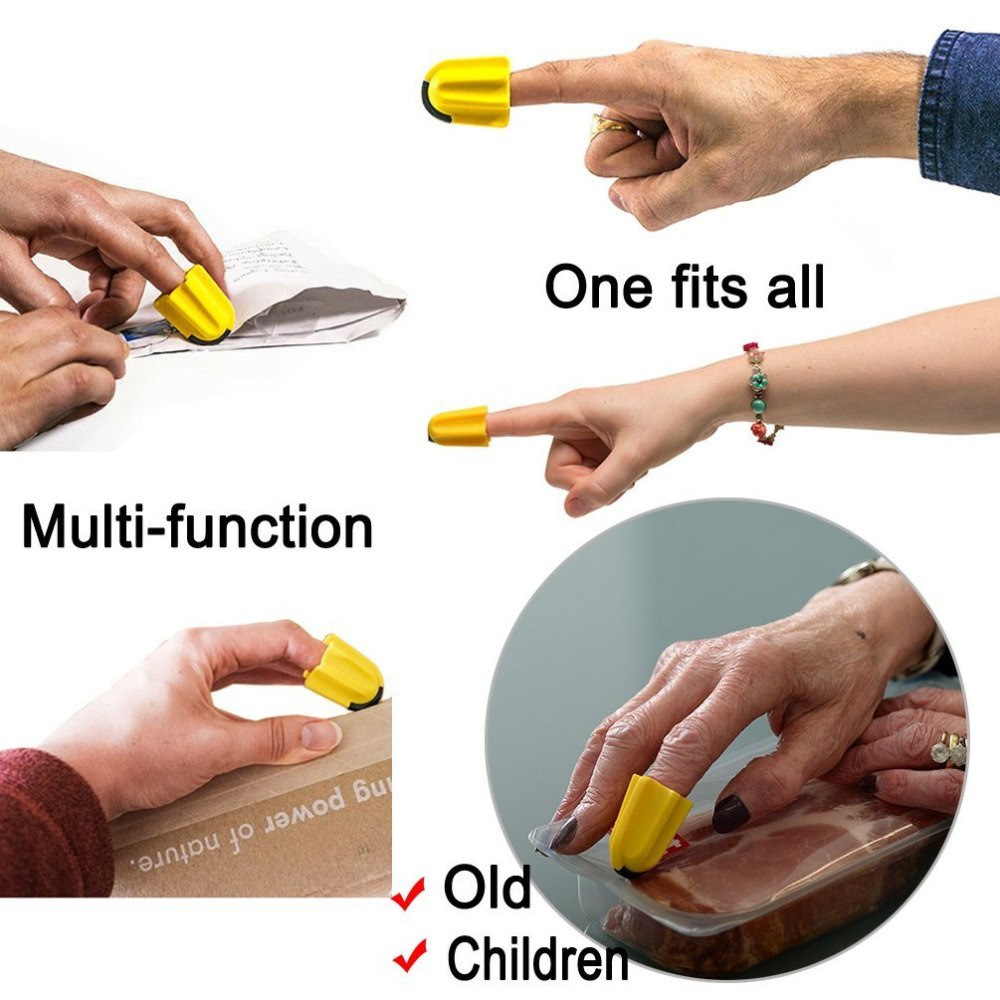 Nimble - the one finger safety cutter