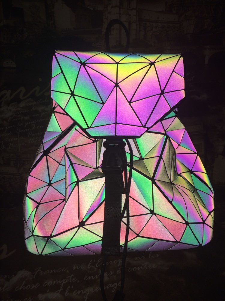Geometric Luminous Backpacks