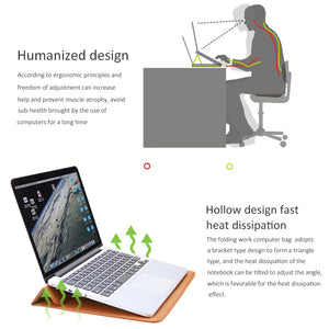 Laptop Sleeve with Stand Function
