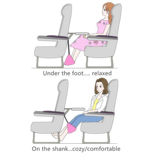 Airplane Footrest Hammock