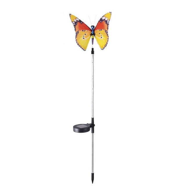 Solar Powered LED Butterfly