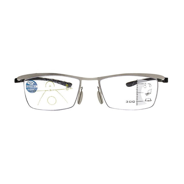 Progressive Multi-focal Reading Glasses