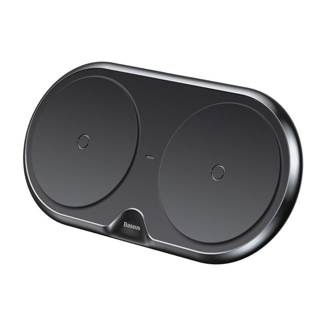 Dual Seat Qi Wireless Charger