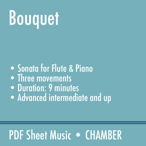 Bouquet: An Open-Ended Sonata for Flute and Piano