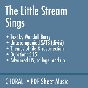 The Little Stream Sings