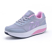 ALDOMOUR Fitness Shoes Women's Sport for Women Swing Wedges platform zapatos mujer canvas trainers tenis feminino Toning Shoes