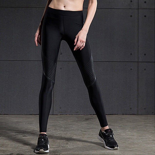 2016 Sport Leggings High Waist Compression Pants Gym Clothes Sexy Running Yoga Pants Women Sports Leggings Fitness Yoga Pants
