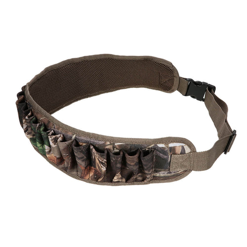 25 Shot Shells Bandolier Belt Ammo Bullet Holder Adjustable Waist Belt Waist Protector Waistband Hunting Military Cartridge Belt Strap Survival Equipment