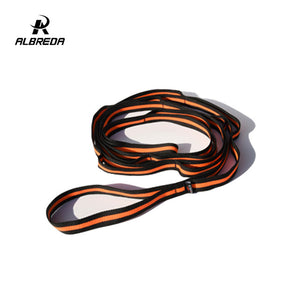 ALBREDA 210*2.5cm yoga strap Training Belt Waist Leg fitness gym Yoga rope flexibility exercises split leg extension training
