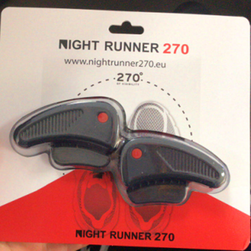 Night Runner 270 Night Running Gear Lights for Running Shoes, 270 Degree Shoe Lights, Water Resistant, Two Ultra LED Lights