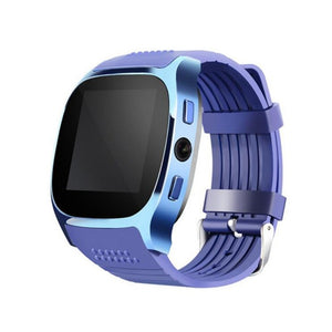 Bluetooth Smart Watch Support SIM TF Card with 0.3MP Camera Smartwatch Music Player Sports Wristwatch for Android Phone