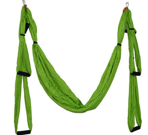 Helpful 2019 Anti-gravity Yoga Hammock Fabric Yoga Flying Swing Aerial Traction Device Yoga Hammock Set Equipment For Body Shaping Yoga Belts