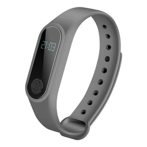 BINZI Smart Wristband M2 Smart Bracelet Heart Rate Monitor Pedometer Waterproof Bluetooth For iOS Android For Men Women
