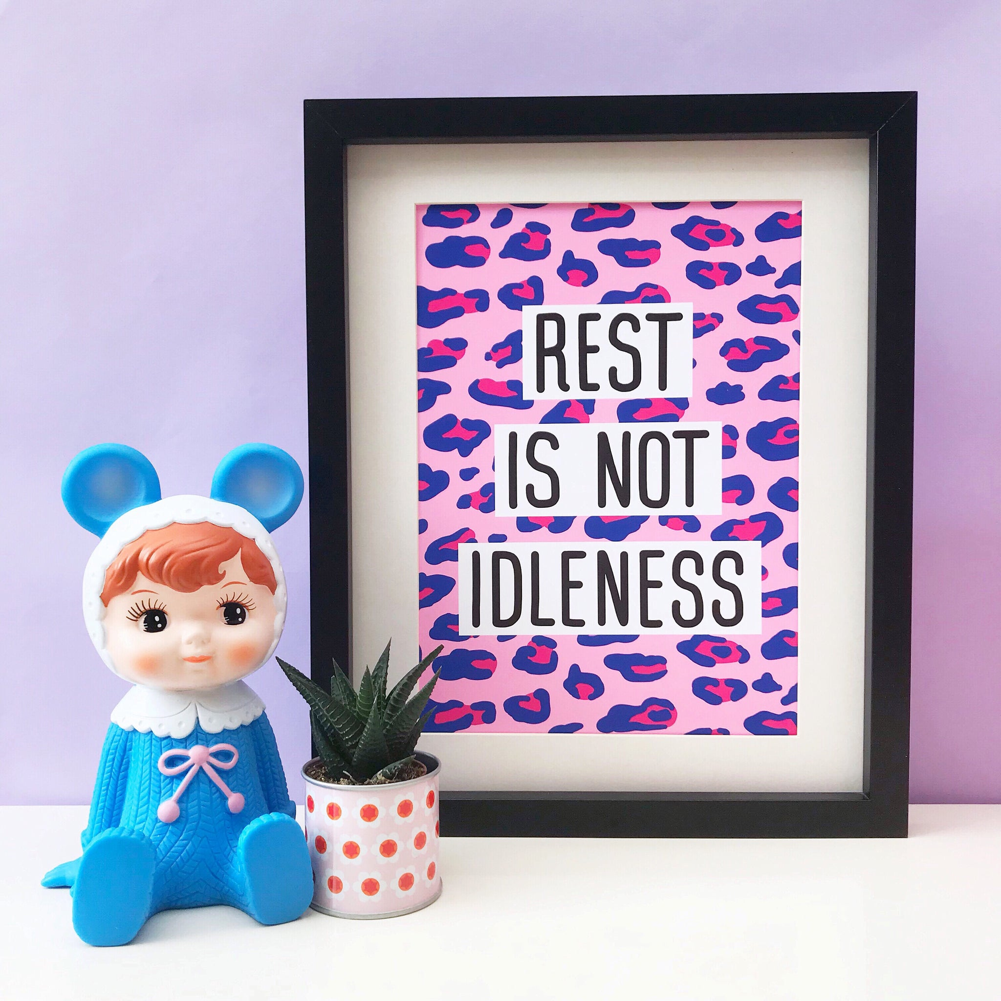 Rest Is Not Idleness Print