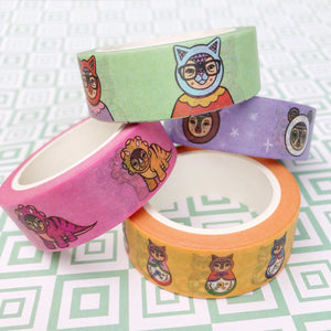 Mix A - Four Tape Washi Collection