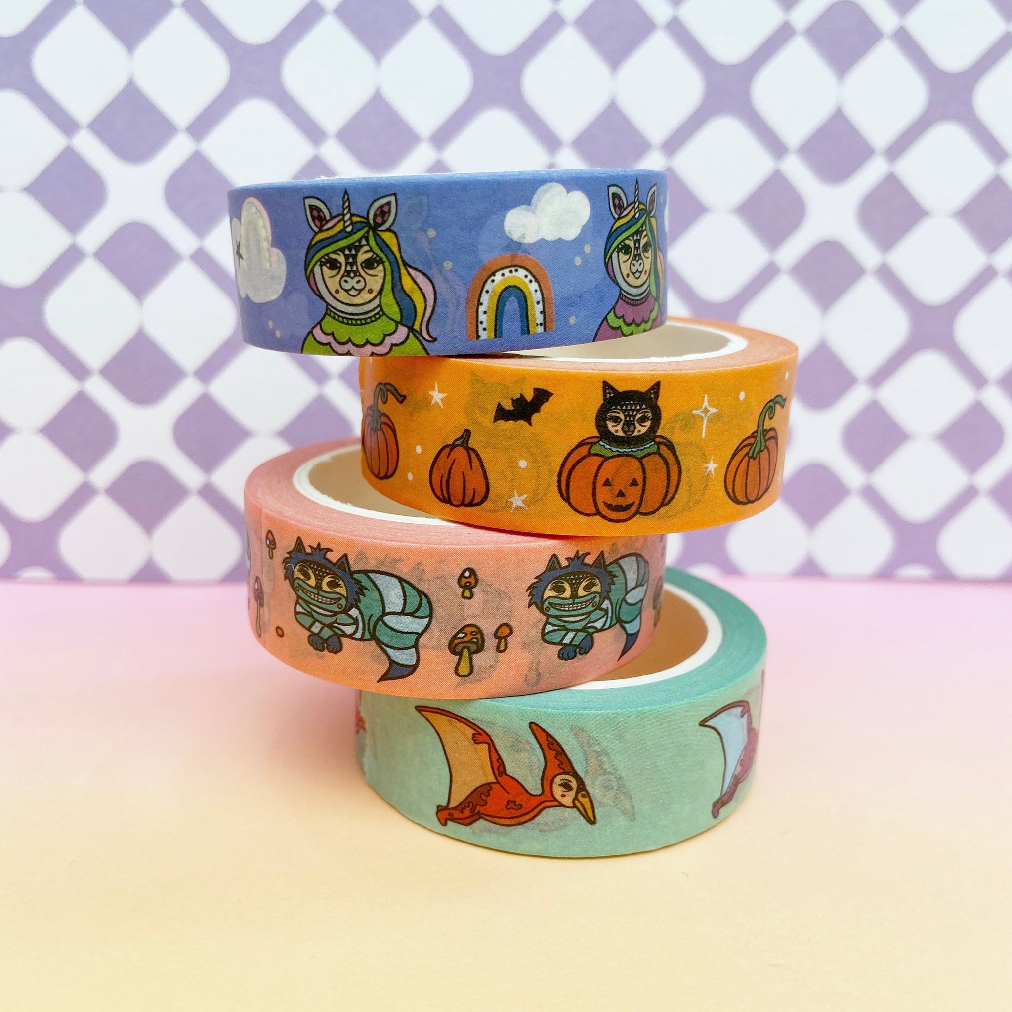 Mix B - Four Tape Washi Collection