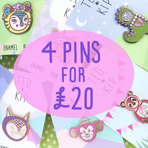 Pick any 4 Pins for £20!