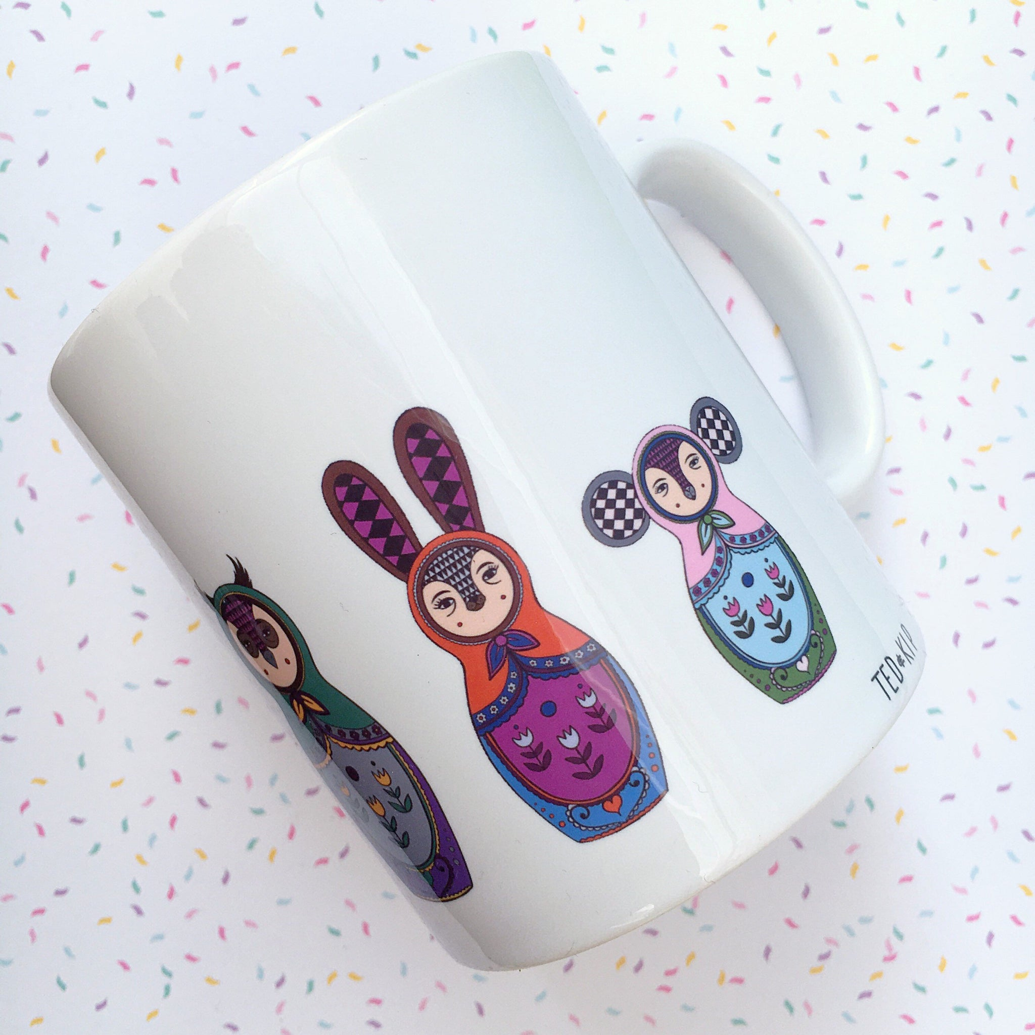 Woodland Russian Doll Mug