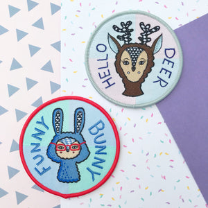Rabbit & Deer Patch Set