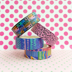 Mix E - Four Tape Washi Collection