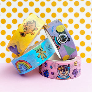 Mix D - Four Tape Washi Collection