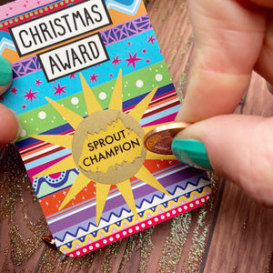 Christmas Award Scratch Cards