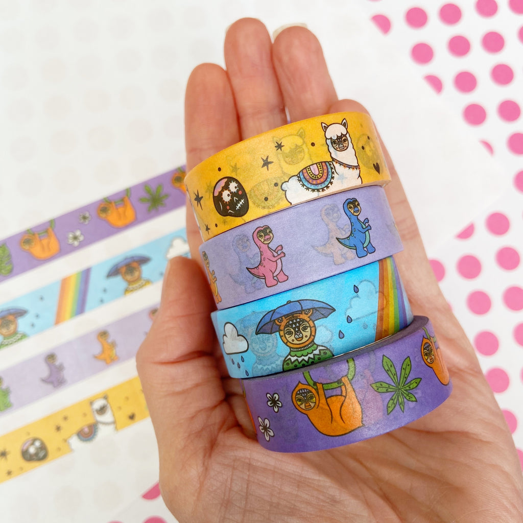 Mix C - Four Tape Washi Collection