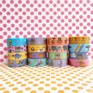 WASHI MEGA MIX - Sixteen Tape Washi Collection