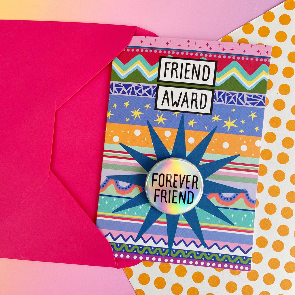 Forever Friend - Friend Award Card