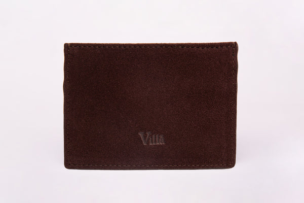 The Timeless Cardholder: Suede Edition