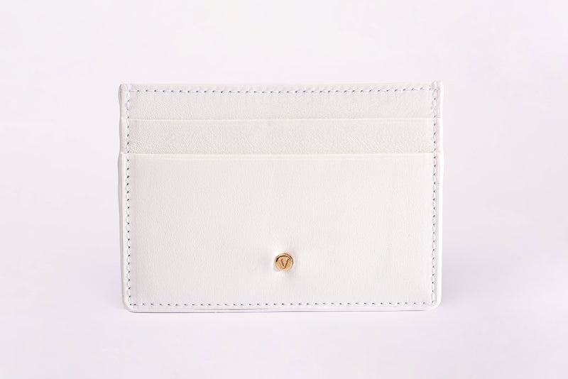 The Timeless Cardholder: White