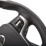PRE-ORDER Toyota Basic Black Leather With Black Wood Steering Wheel Kit