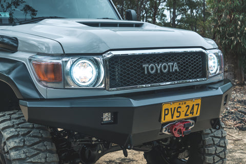 Toyota Landcruiser 76/79 Series 30th Anniversary FJ Grille & Badge