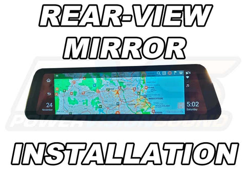 Rear View Mirror Installation
