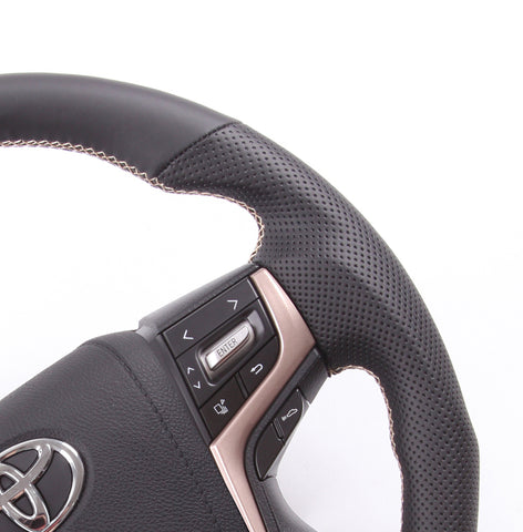 Toyota Limited Edition Series Vintage Gold Steering Wheel Kit